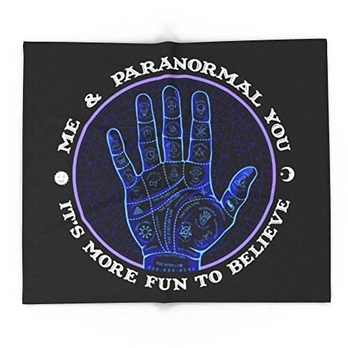 Society6 Me & Paranormal You - James Roper Design - Palmistry (white Lettering) 68'' x 80'' Blanket by Society6