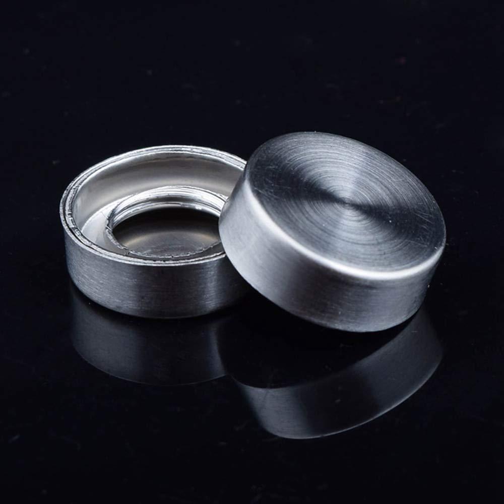 Ochoos Shipping Stainless Steel 16mm Diameter Decorative Screw Caps Pan Head Screw for Glass Mirror 1000Pcs/lot