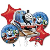 Single Source Party Supplies - Thomas & Friends Bouquet Mylar Foil Balloons by Anagram