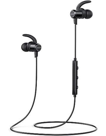 bf42230f36a Anker Bluetooth Headphones, SoundBuds Slim Lightweight Wireless Earphones,  IPX5 Sweatproof Sports Headphones with cVc
