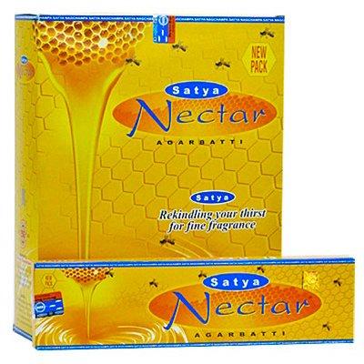 Satya Nectar Incense Sticks, 45 Gram Box