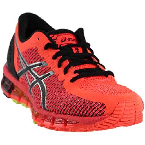 ASICS Women's Gel-Quantum 360 cm Running Shoe, Flash Coral/Black/Silver, 8.5 M US
