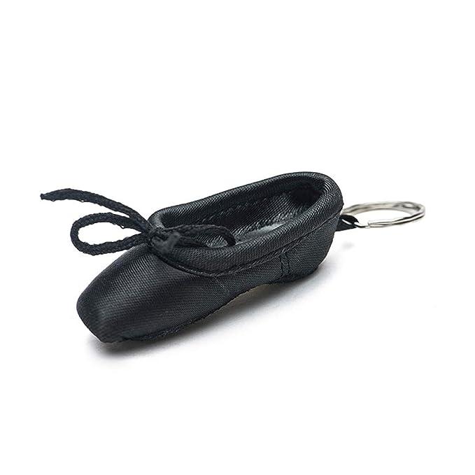 Amazon.com: Llavero de zapatos de ballet con cadena de mini ...