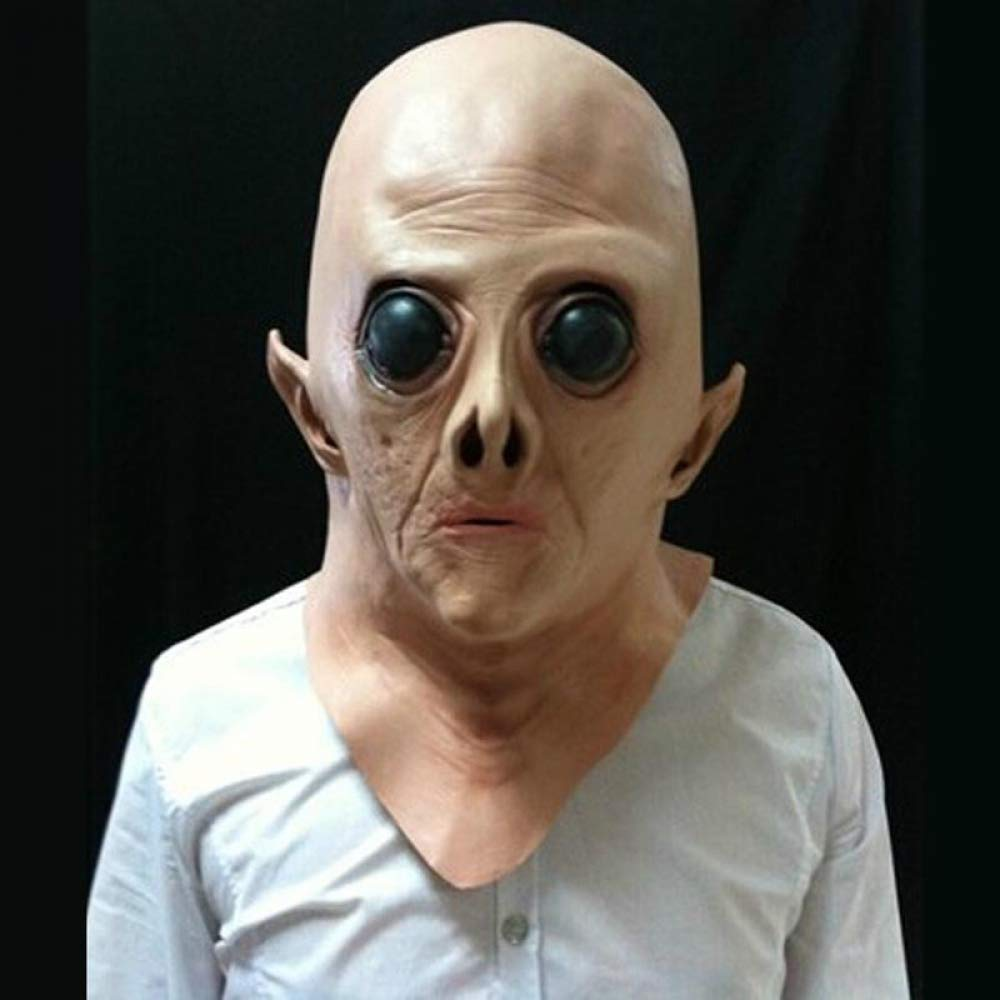 7 RngY Halloween adult latex mask male horror film COS zombie hood tidy scary haunted house horror props1