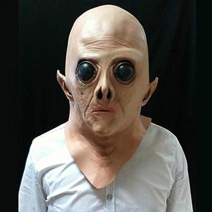 RngY Máscara de látex para Adultos de Halloween, película de Terror Masculino, COS,