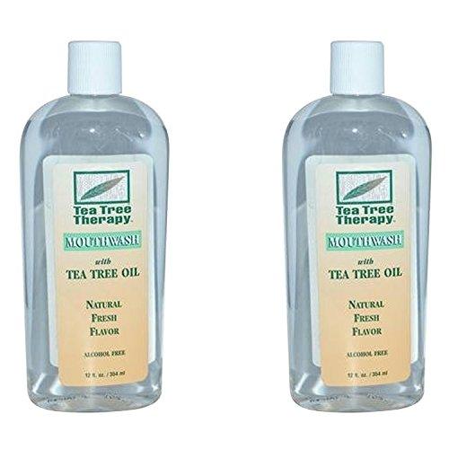 (Mouthwash-Tea Tree Alcohol Free Tea Tree Therapy 12 oz Liquid (2-Pack))
