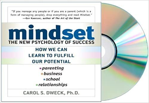image for mind set Audiobook: Mindset Audio CD: The New Psychology of Success by Carol Dweck [Audiobook, Unabridged]