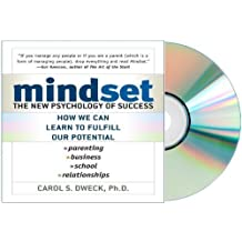 mind set Audiobook: Mindset Audio CD: The New Psychology of Success by Carol Dweck [Audiobook, Unabridged]
