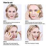 Under Eye Collagen Patches Eye Masks with 24K Gold