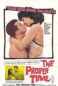 The Proper Time Poster 27x40 Tom Laughlin Richard Shannon Constance Davis