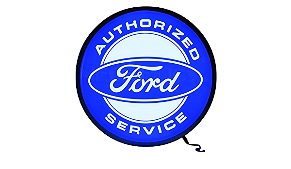 15 Neonetics Ford Authorized Service Backlit LED Lighted Sign