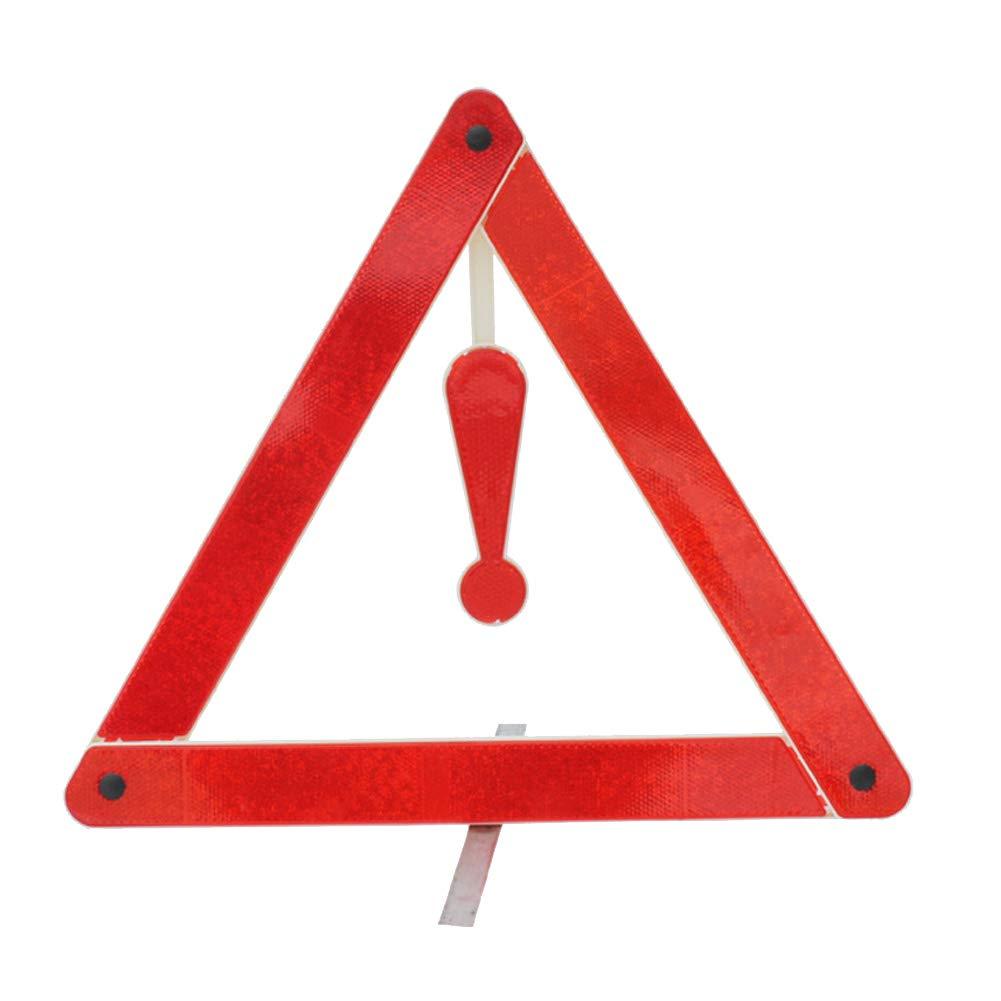 PVC Plegable Patzbuch Se/ñal de Advertencia Reflectante de Emergencia Suministros de Seguridad tri/ángulo port/átil se/ñal de Advertencia para Coche