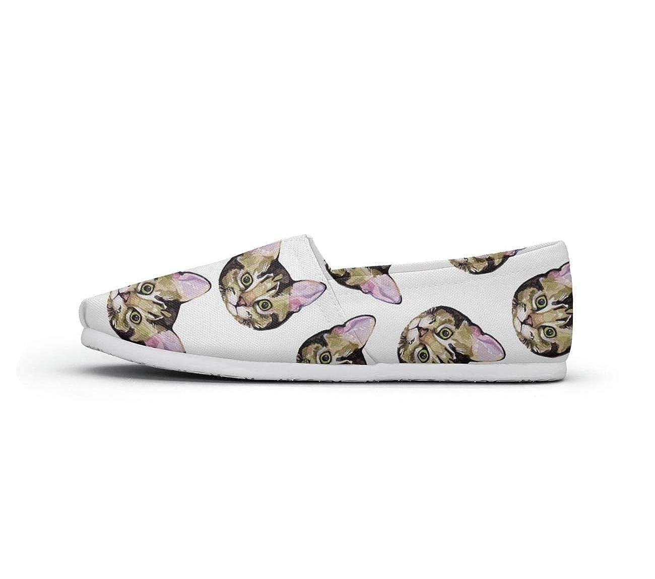 Moody Cat Natural Classics Womens Extra Light Flat Boat Shoes Girls Espadrille Flats