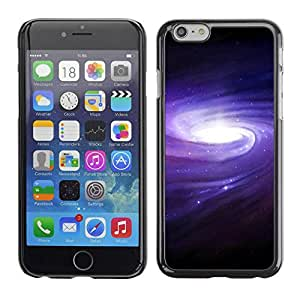 Slim Design Hard PC/Aluminum Shell Case Cover for Apple Iphone 6 Galaxy Belt Of Stars Space / JUSTGO PHONE PROTECTOR