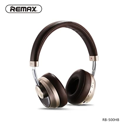 Amazon In Buy Remax Music Bluetooth Headphones Rb 500hb Brown At Low Prices In India Home Kitchen Store