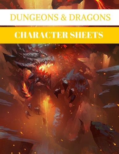 character sheets - 2