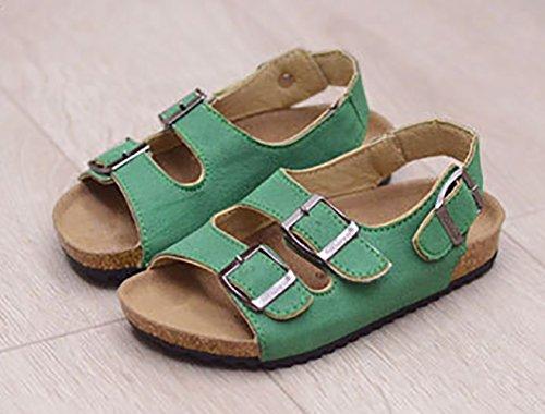 SK Studio - Sandalias de vestir de Material Sintético para niña Verde