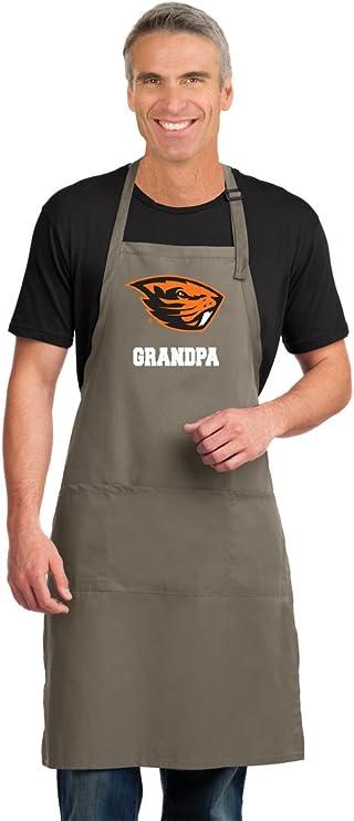 Broad Bay Deluxe Oregon State Grandma Apron Official OSU Beavers Grandma Logo Aprons