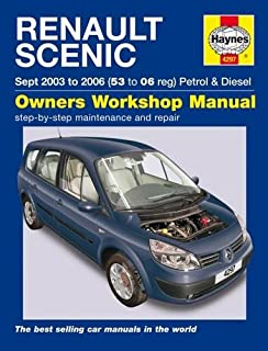 renault megane and scenic service and repair manual haynes service rh amazon co uk renault grand scenic service manual renault megane scenic service manual pdf