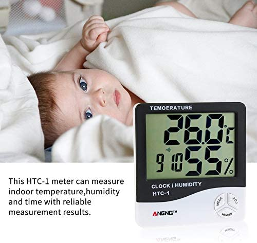 ukYukiko HTC-1 Thermom/ètre hygrom/ètre num/érique