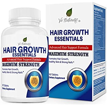 Hair Vitamins For Faster Hair Growth Advanced Hair Growth Essentials Supplement For Hair Loss 29 Powerful Hair Growth Vitamins Nutrients For Rapid