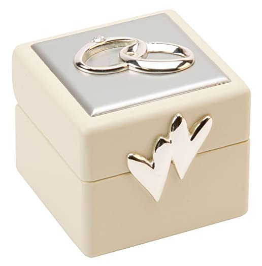 beautiful amore double wedding ring box - Wedding Ring Box