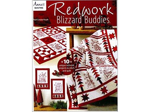Blizzard Buddies - Annies Redwork Blizzard Buddies Bk