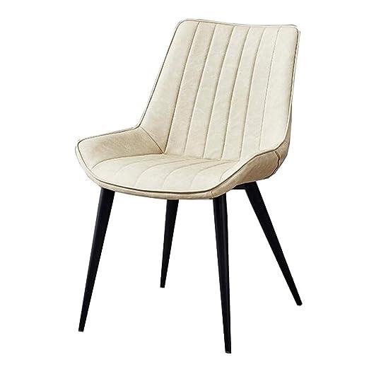 WYYY silla de Oficina Sillas De Comedor Cojin Blando Piernas ...