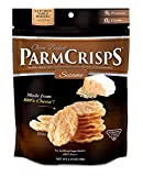 gluten free cheese rolls - ParmCrisps Sesame Flavor, Gourmet Snack Made From 100% Real Parmesan Cheese, Wheat Free, Gluten Free, Sugar Free, 1.75oz Bag, Pack of 12