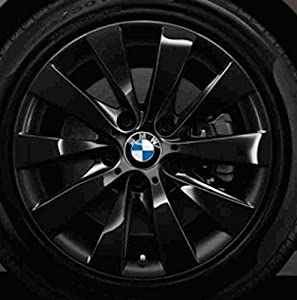 bmw alloy wheel bmw 3 series f30 f31 v spoke 413 black in. Black Bedroom Furniture Sets. Home Design Ideas