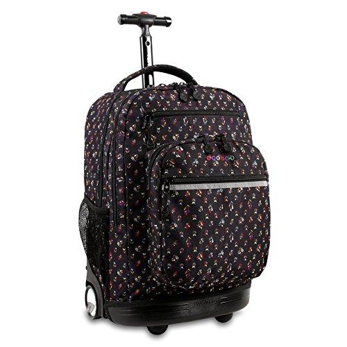 J World New York Sundance Rolling Backpack - Origami - One Size