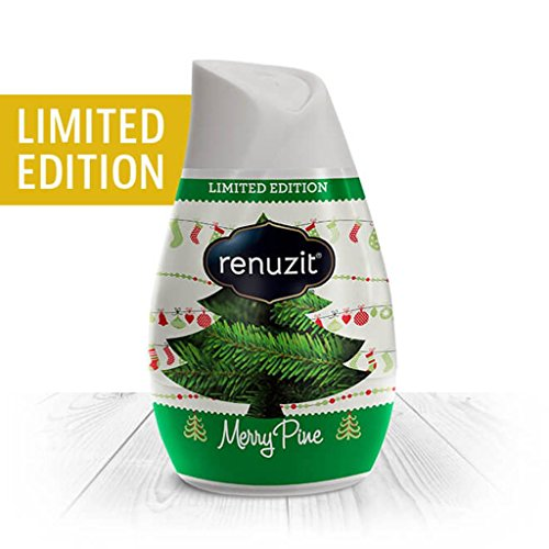 Renuzit Holiday Air Freshener Merry Pine Scented Gel Limited Edition, 7 Ounce (Pack of (Pine Air Freshener)