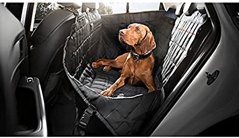 AUDI A3 S3 RS3 ALL YEARS Premium Quilted Pet Hammock Rear Seat Cover