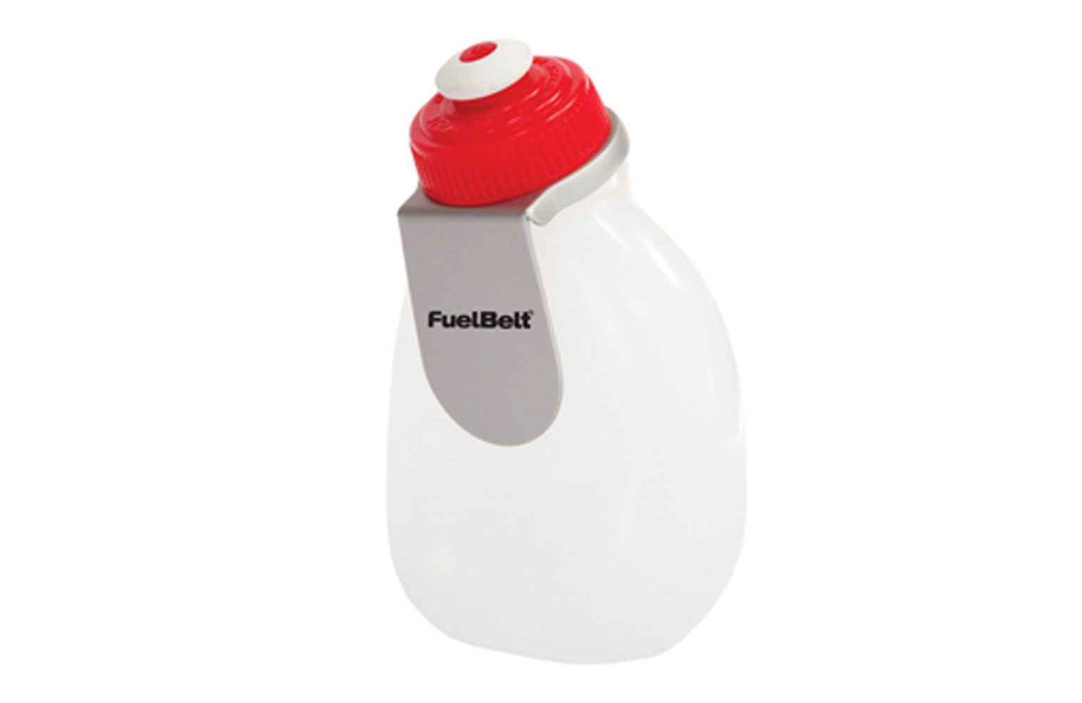 FuelBelt Wedge Bottle with Clip, 7-Oz by FuelBelt