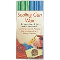 Sealing Gun Wax Sticks 6/Pkg-Blue & Green