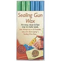 Sealing Gun Wax Sticks 6/Pkg-Blue & Green