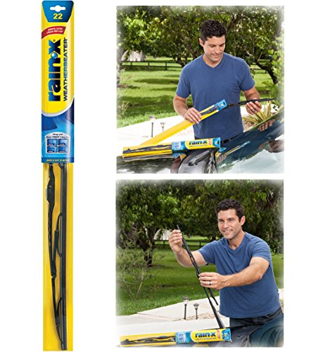 "Rain‑X Original Weatherbeater Wiper Blade, 22"" RX30222"