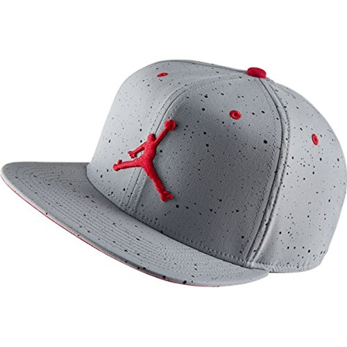 Nike Mens Jordan Retro 4 Snapback Hat Wolf Grey Fire Red 724893-013 - Buy  Online in Oman.  9f00979710a