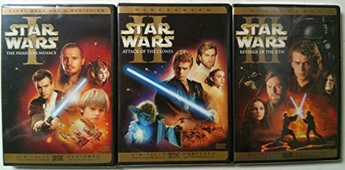 Star Wars Prequel Trilogy Episode I, II, III (6 Disc Widescreen) by