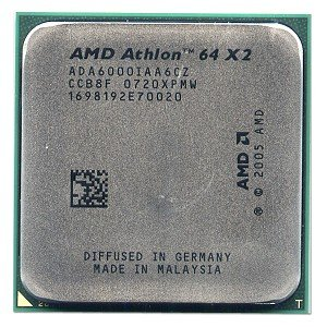 3GHz 1MB L2 AMD Athlon X2 Dual-Core 6000 3 GHz, Socket AM2, 90 nm, 6000+, 64 bits, 1 MB Procesador
