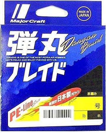メジャークラフト 弾丸ブレイド 4本編み 0.4号の画像