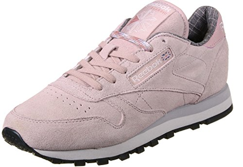 Reebok I Shell CL Whisper Lilac Damen amp;w Pink Lthr Grey Pink W Fitnessschuhe Rose Rosa Blk rCrZFqw