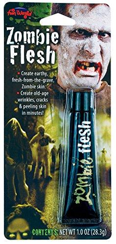 Fun World Unisex-Adult's Zombie Flesh Make Up, Multi, Standard