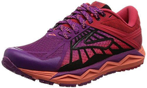 Brooks Caldera, Zapatos para Correr para Mujer Hollyhock/Lollipop/Black