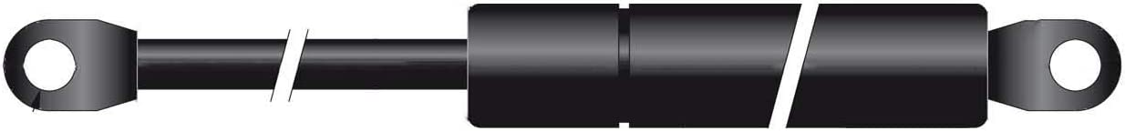 Made in EU Gasdruckfeder Lift Haubenheber 200N Hub=60 Länge 205//220 Ø 8//18 mm