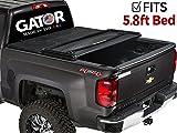 Gator Tri-Fold Tonneau Truck Bed Cover 2014-2018 Chevy Silverado GMC Sierrara   5.8 FT Bed