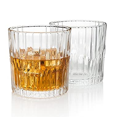 The Savoy  American Bar  Essential Whiskey Glass, Circa 1930 (Gift Box Set of 4)