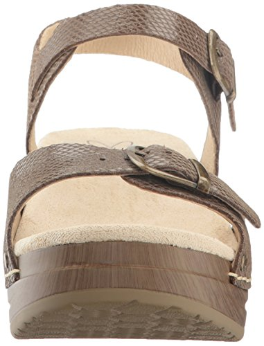 Sanita Women's Davia Platform Sandal Brown Snake cheap best wholesale buy cheap 100% original comfortable RmvVG9dr5