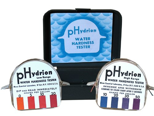 M·E·L Hydrion Water Hardness Test Kit (packed with two ro...
