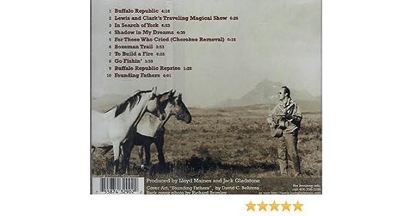 jack gladstone buffalo republic amazon com music